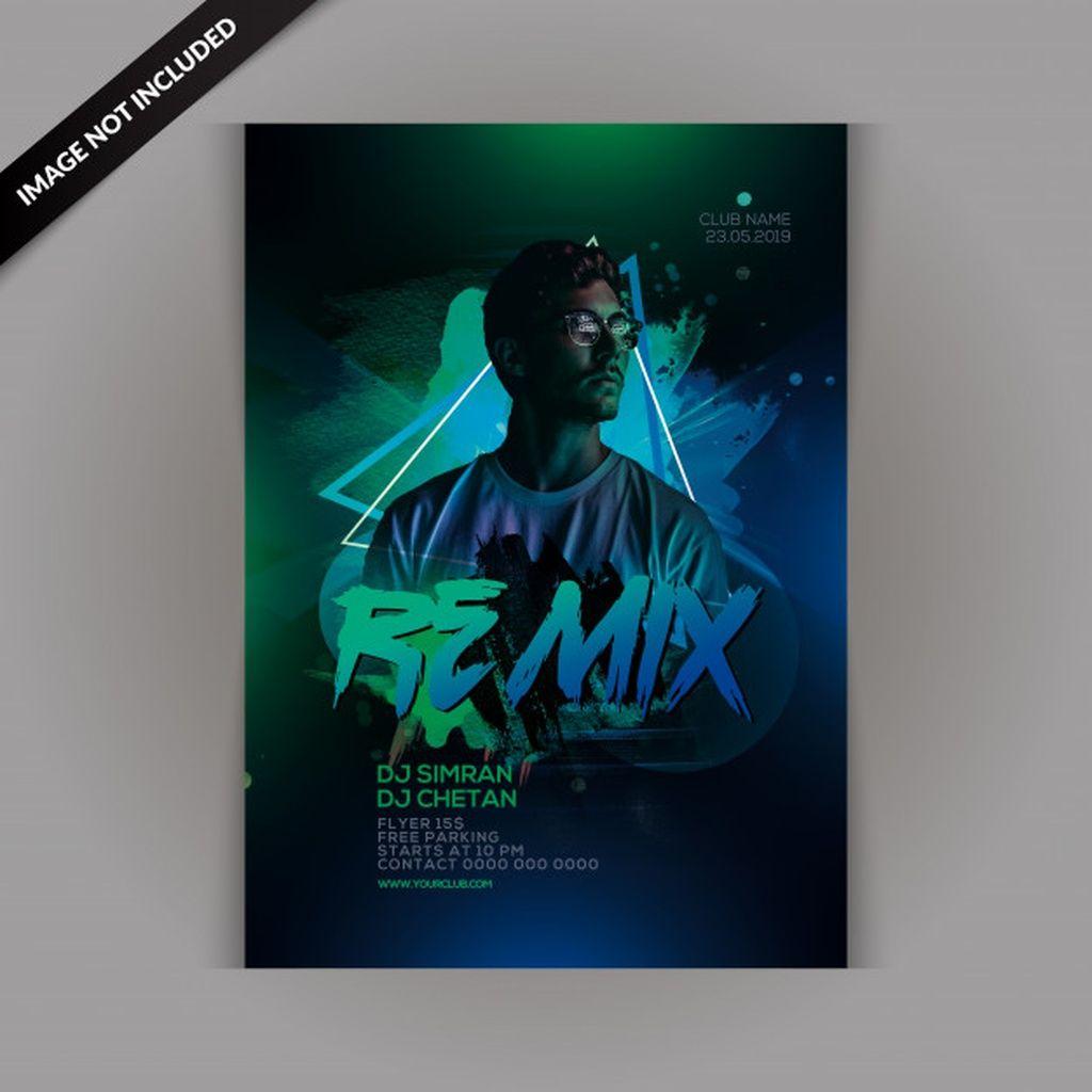 Dj remix party flyer #paid, , #affiliate, #AFFILIATE, #remix, #party, #flyer, #Dj