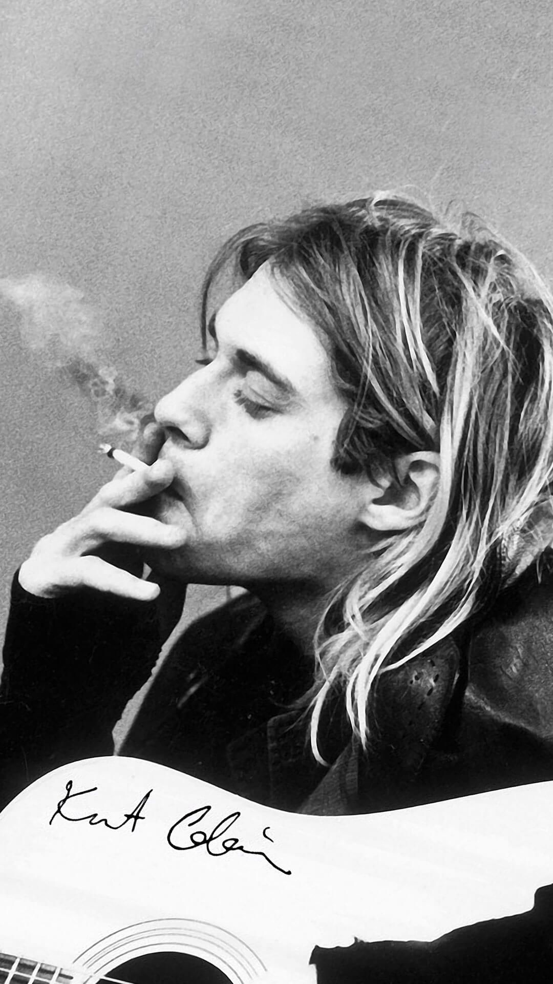 Kurt Cobain Wallpapers For Iphone 6 Hd Seniman Jalanan Nirvana