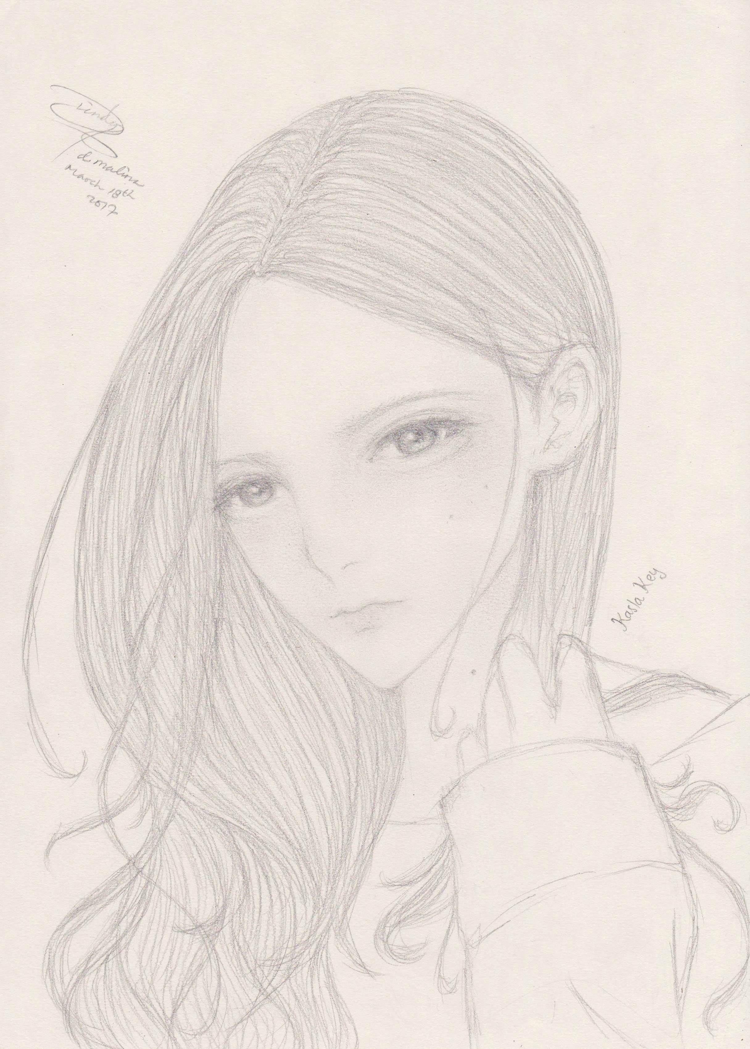 character, girl, manga, non-anime