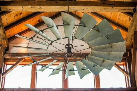 Windmill Ceiling Fan Windmill Decor Rustic House Windmill