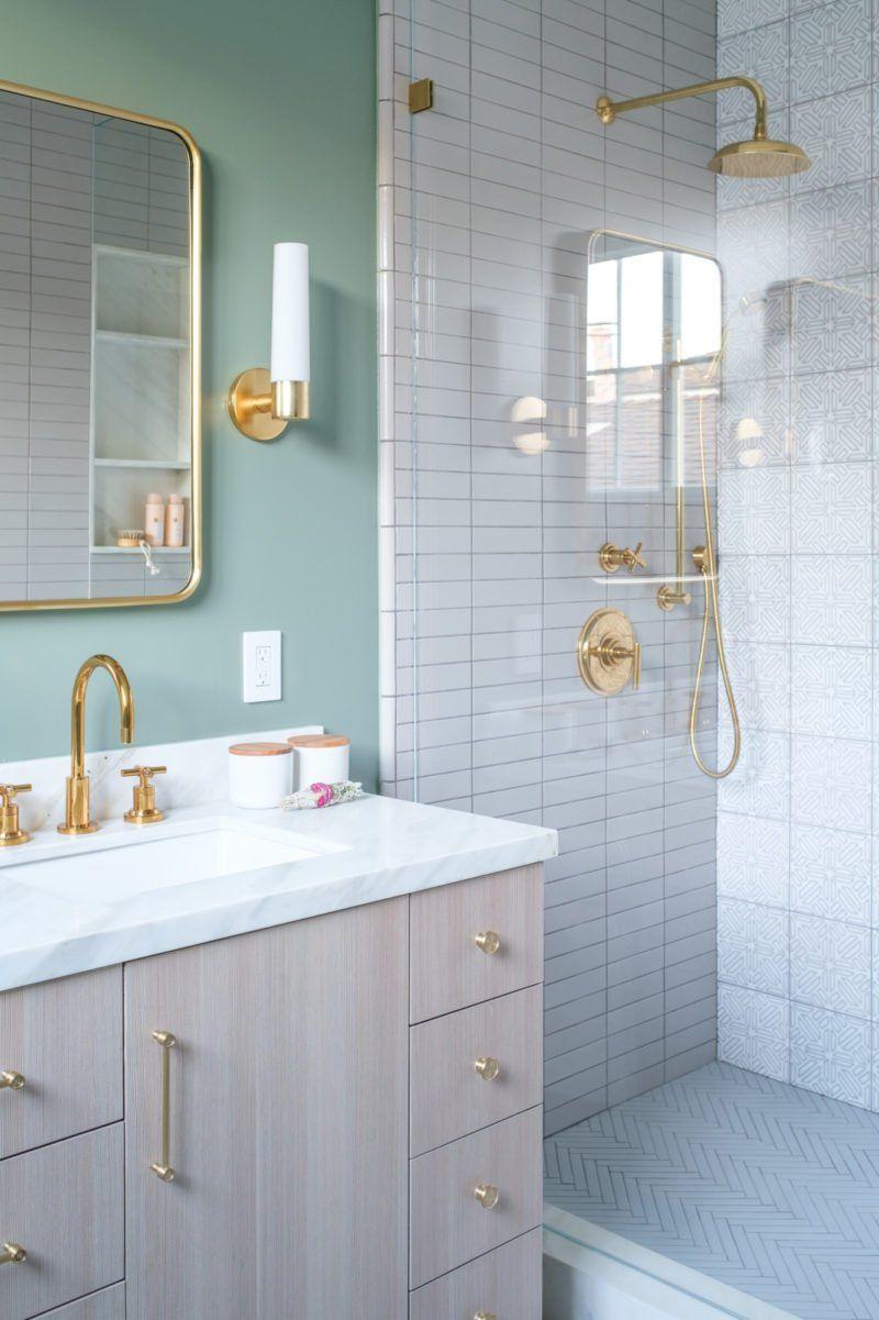 A Large Master Bathroom Designed With Personality Rue Minimalist Bathroom Bathroom Wall Decor Diy Bathroom Decor
