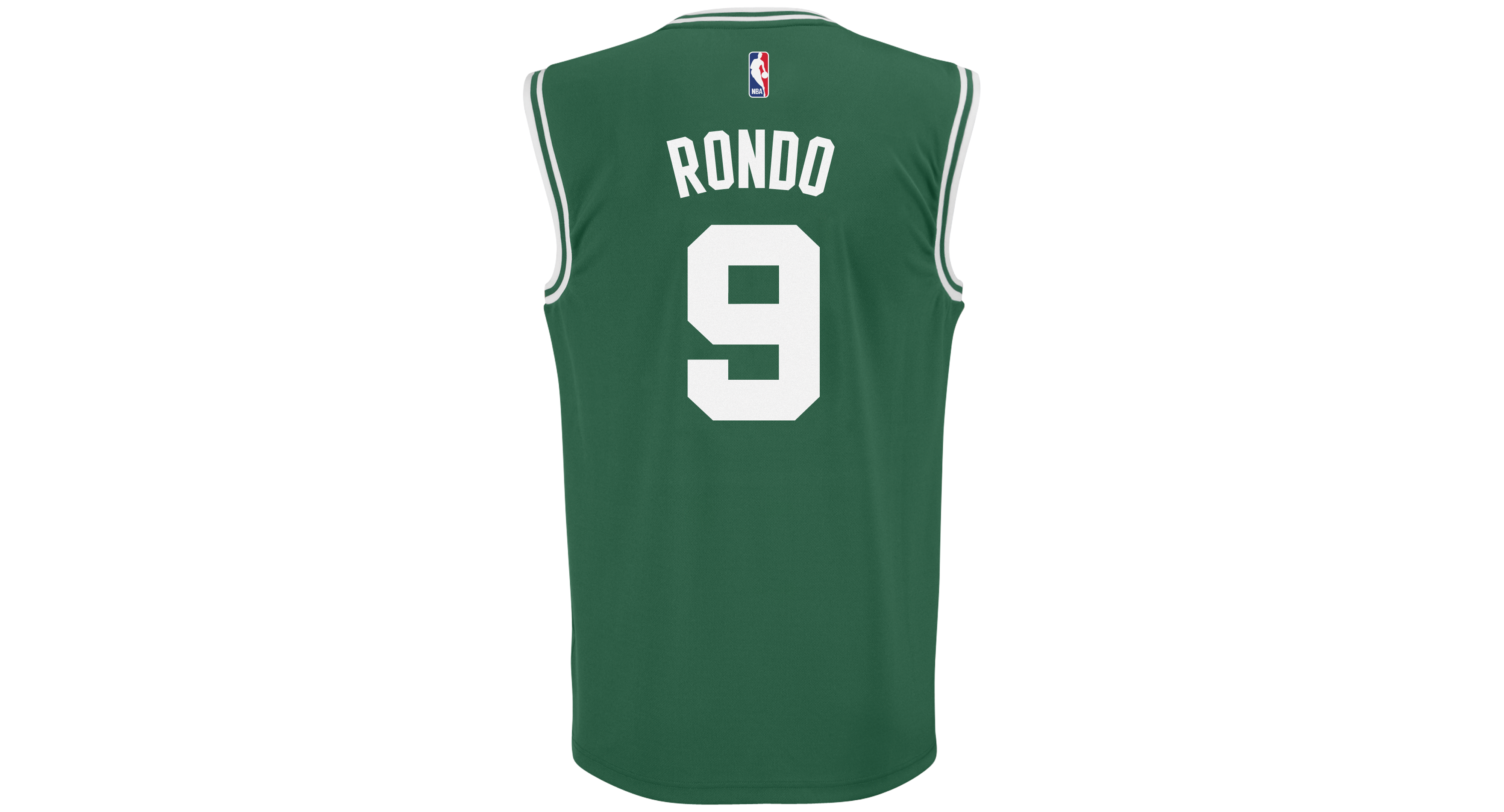 buy popular 22c38 4ca5c adidas Men's Rajon Rondo Boston Celtics Rev 30 Replica ...