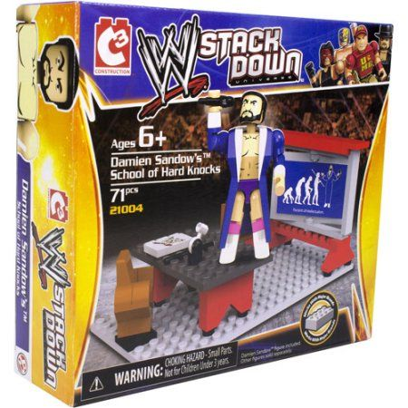 WWE StackDown Damien Sandow's Wrestling 101 Playset, Multicolor
