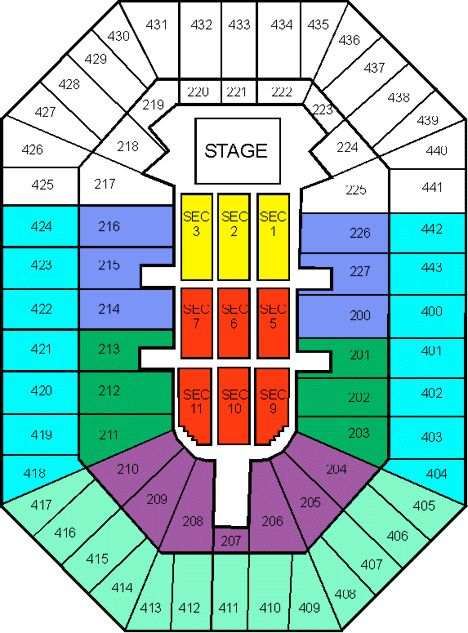 Bradley Center Seating Chart By Ticket King Milwaukee Via Flickr