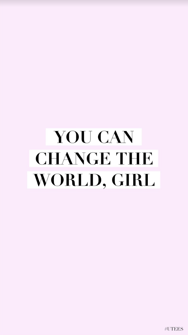 You Can Change The World Wallpaper I Inspirational Wallpaper I Iphone Screensaver Wallpaper Quotes Funny Quotes Wallpaper Inspirational Quotes Wallpapers