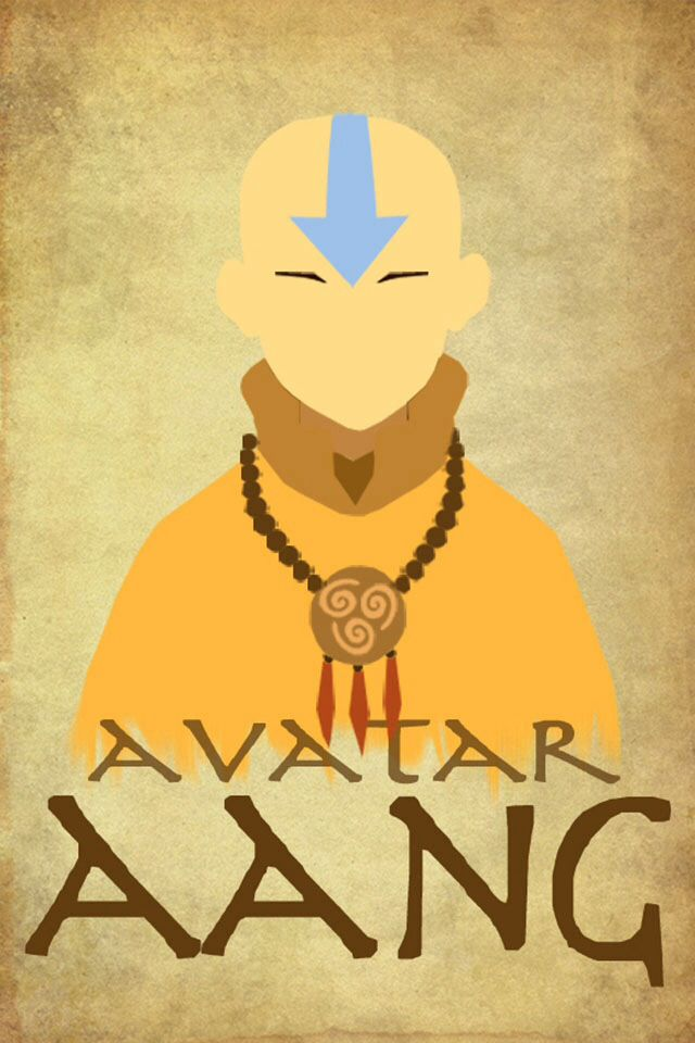 Avatar Aang I Love The Simplicity Of This Poster Avatar Airbender Avatar Aang The Last Avatar