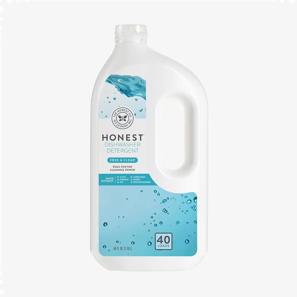 Honestco Dishwasher Detergent Dual Enzyme Cleaning Power A