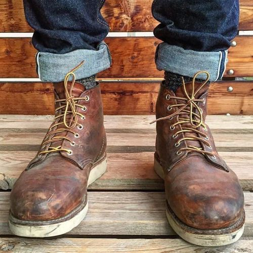 Red Wing Heritage 9111 Botas Zapatos Pinterest Red