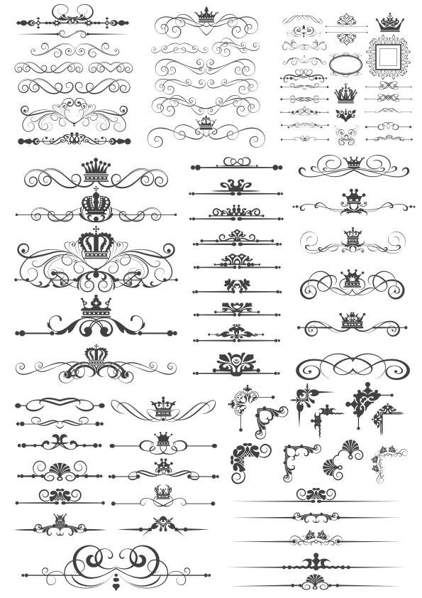Royal Crown Border Art Vectors Free Vector Cdr Download 3axis Co Crown Royal Vector Free Symbol Design