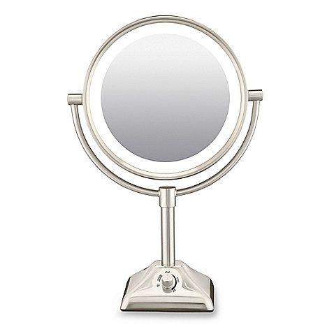 This Double Sided Freestanding Mirror Features Evening Home