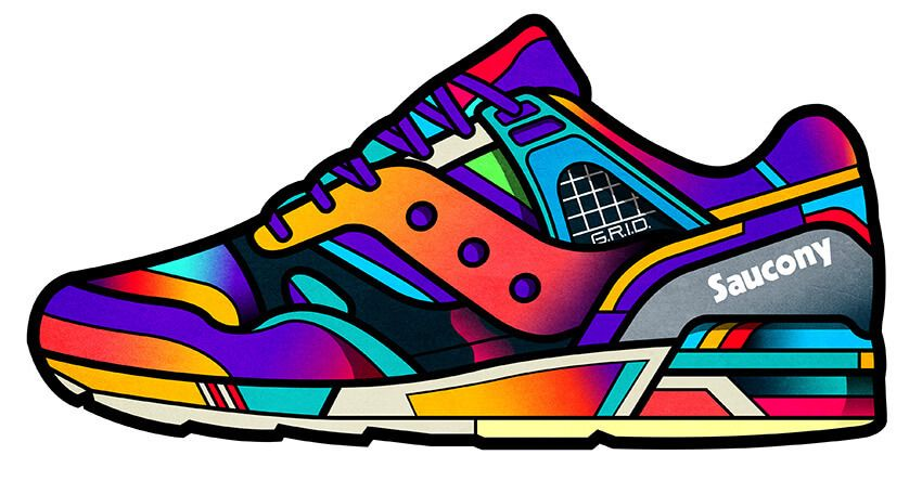 Airmax vivid sneaker sticker adesivo p caderno pinterest custom stickers and cartoon