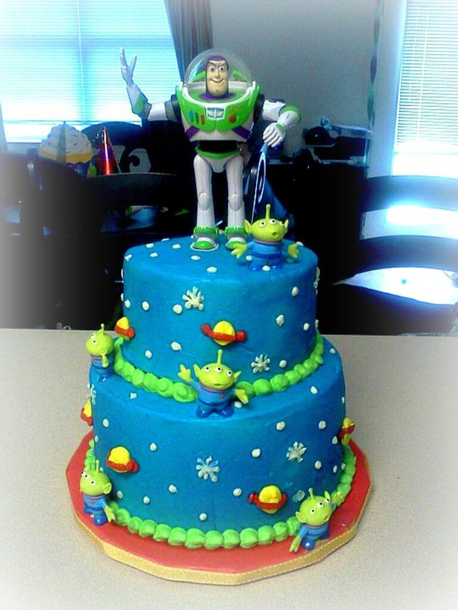 Buzz lightyear cake 5th birthday buzz lightyear and alien