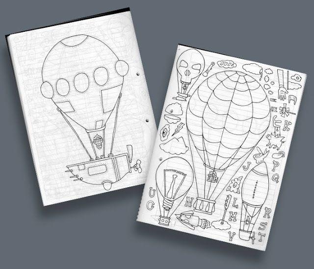 Ilustrador Alexiev Gandman: Ilustrando paso a paso una carrera en globo
