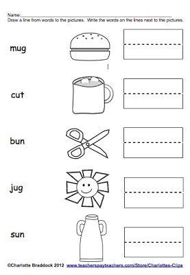 CVC short u words. | language & literacy | Pinterest | Other ...