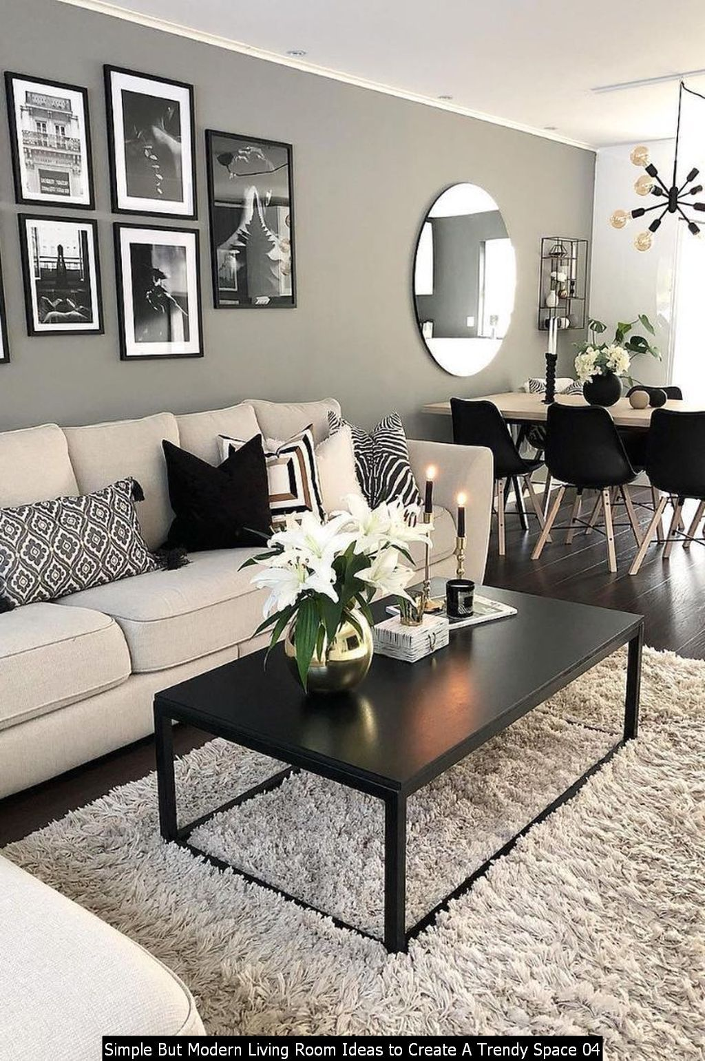 30 Simple But Modern Living Room Ideas To Create A Trendy Space In 2021 Black Living Room Decor Decor Home Living Room Small Living Room Decor