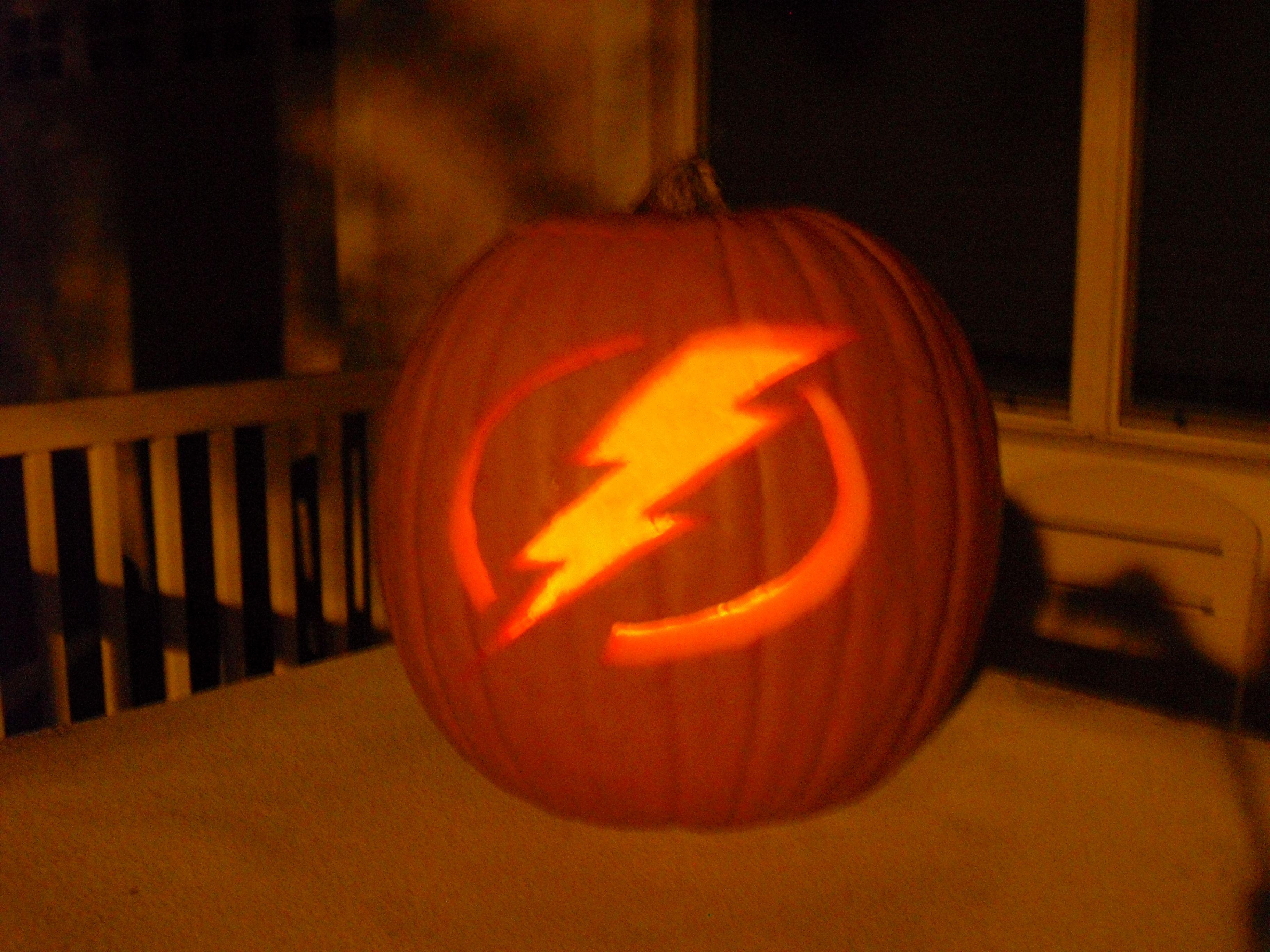 Tampa Bay Lightning pumpkin Halloween Thanksgiving Pinterest