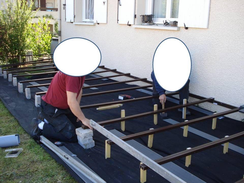 Terrasse sur pilotis diy en composite instructions de ...
