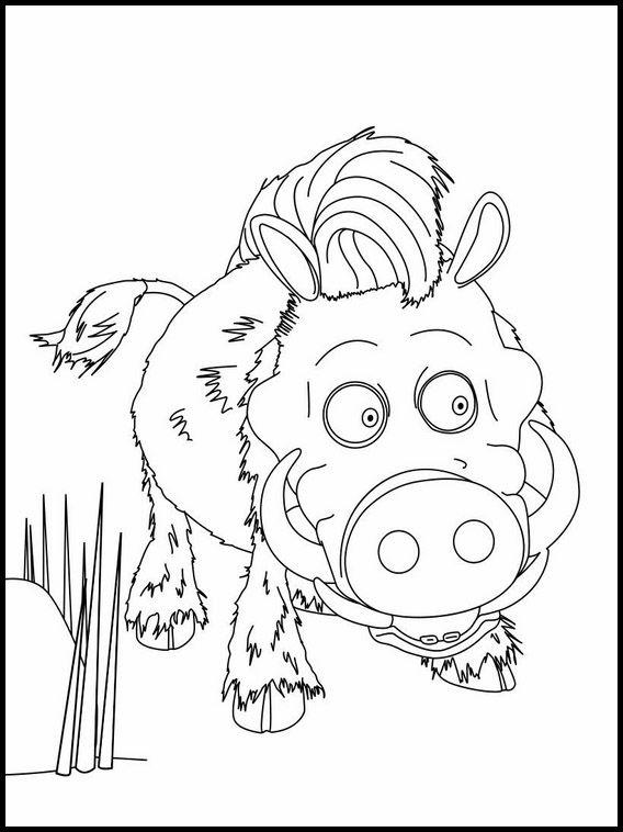 Dibujos para Colorear. Dibujos para imprimir y pintar La Panda de la ...
