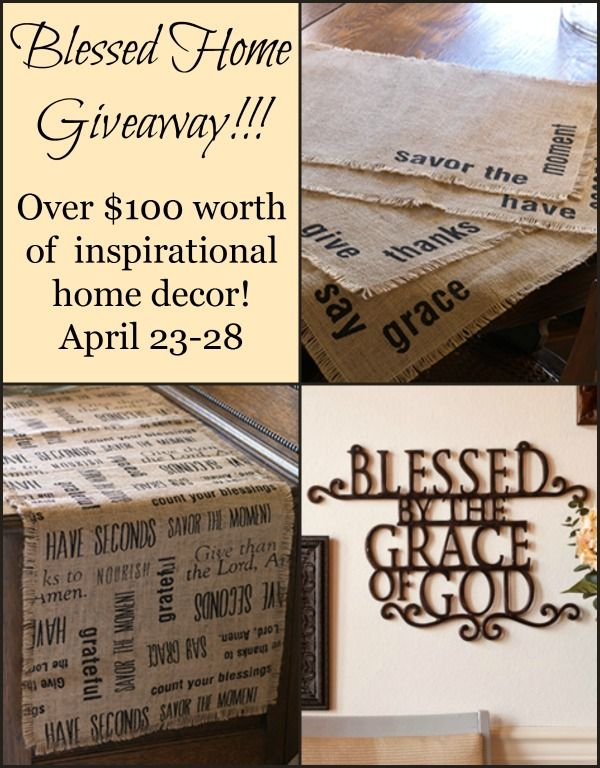 $100 Home Decor Giveaway