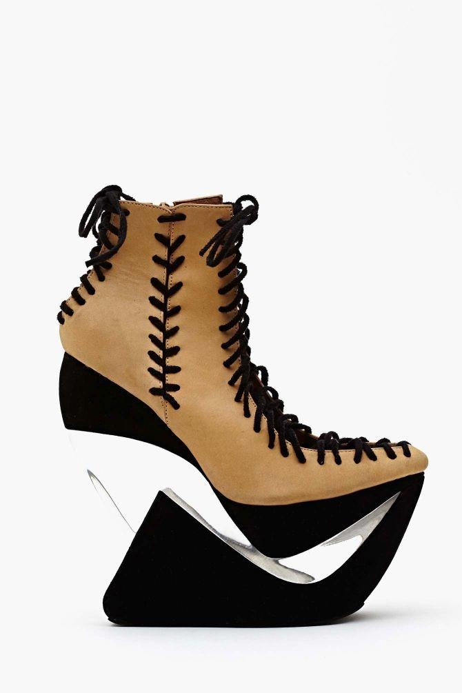 07ef1d3cfa37 Zamn Platform Wedge in Shoes at Nasty Gal