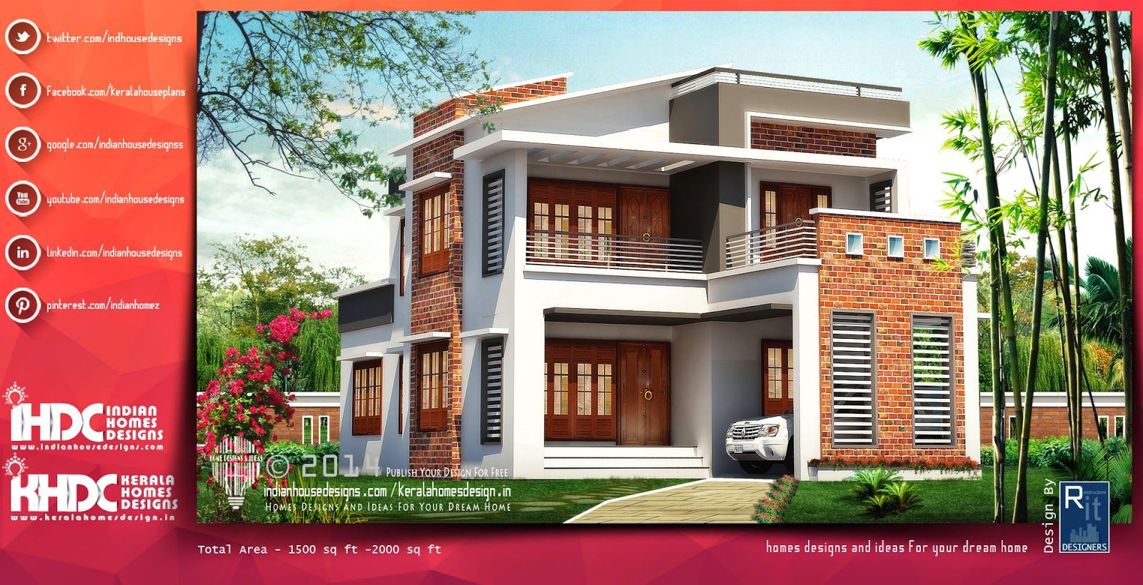 Modern House Designs Designed By Rit Designers You Can Buildup Your Dream  Or A House Which