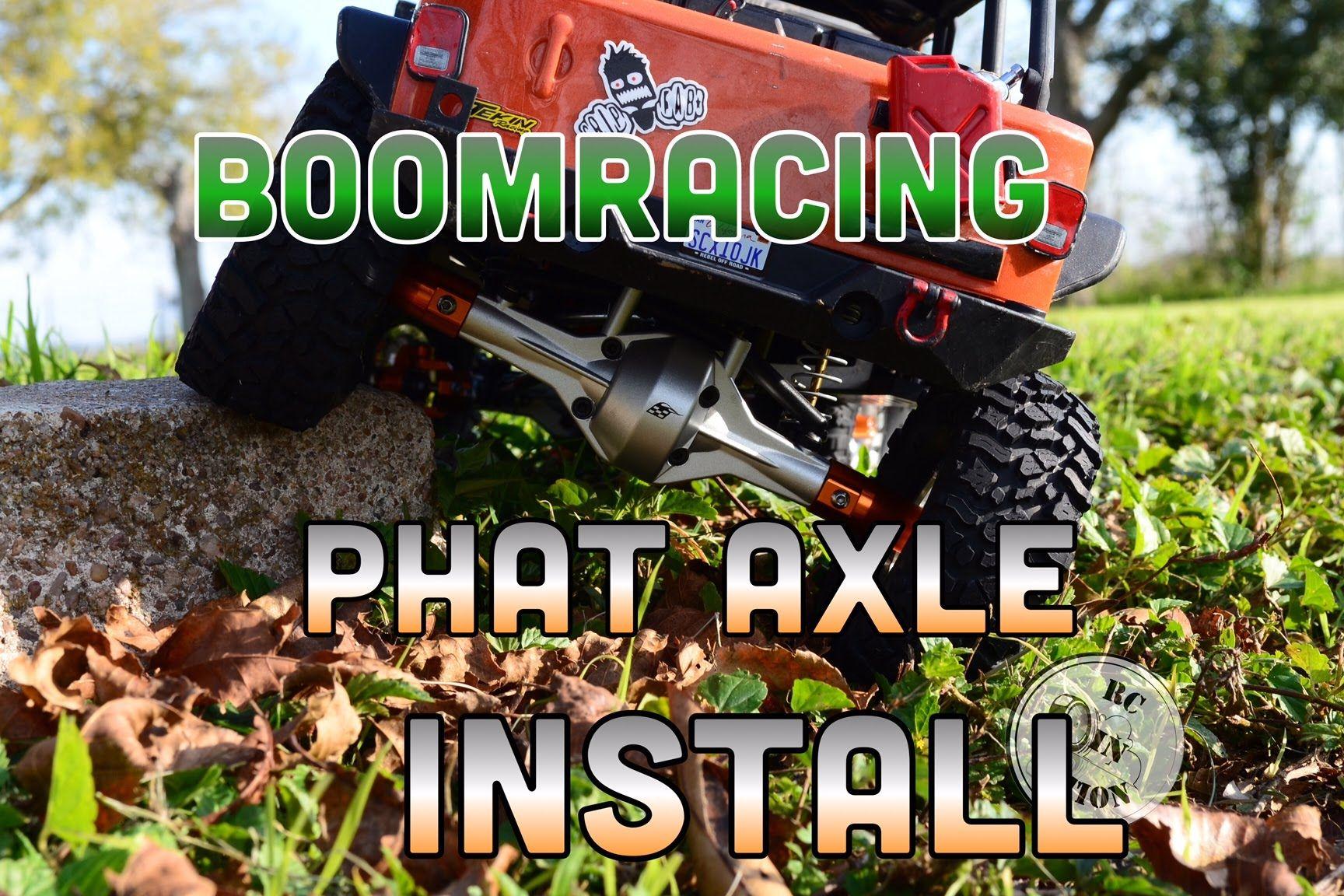 Boomracing SCX10 Phat Axle Install - Part 1