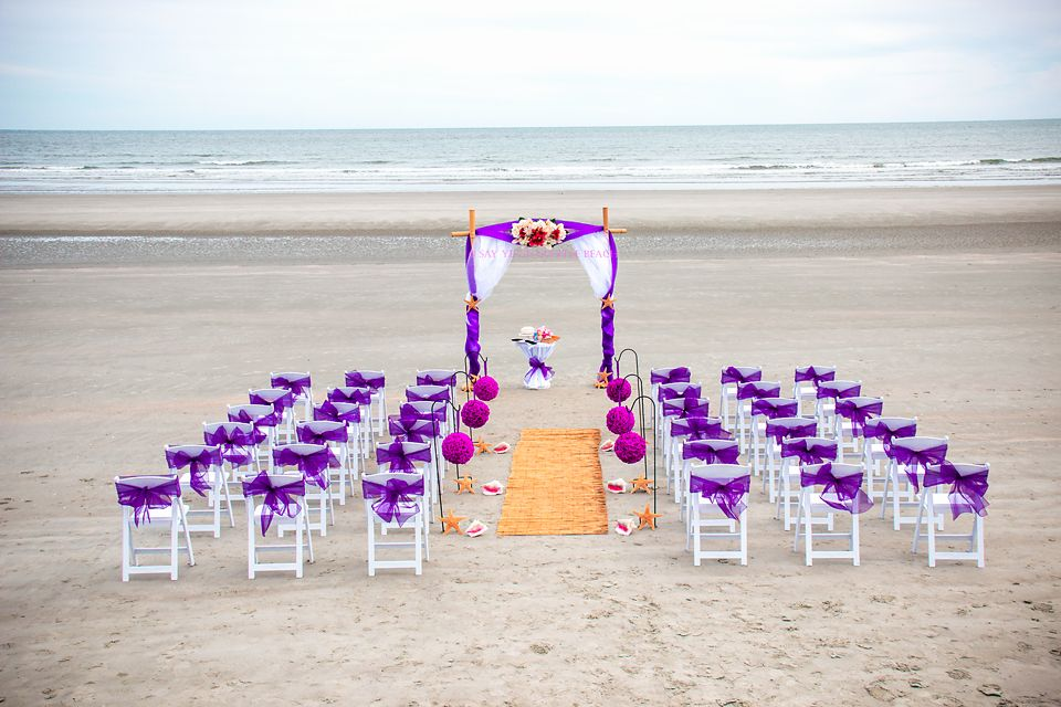Weddings On The Beach And Myrtle Beach Wedding Packages By Say Yes In Myrtle Beach Wedding Venues Beach Myrtle Beach Wedding Myrtle Beach