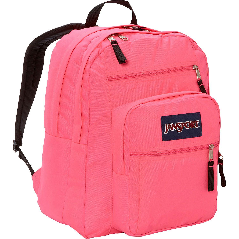 jansport big student backpack 17 5 blue topaz jansport