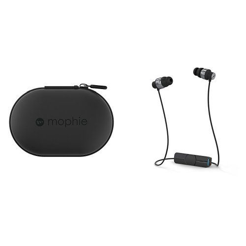 Mophie Power Capsule External Battery Charger For Fitbit Flex Beats By Dre Jbl Wireless Earbuds Black And Ifrogz Audi With Images Black Headphones External Battery Charger