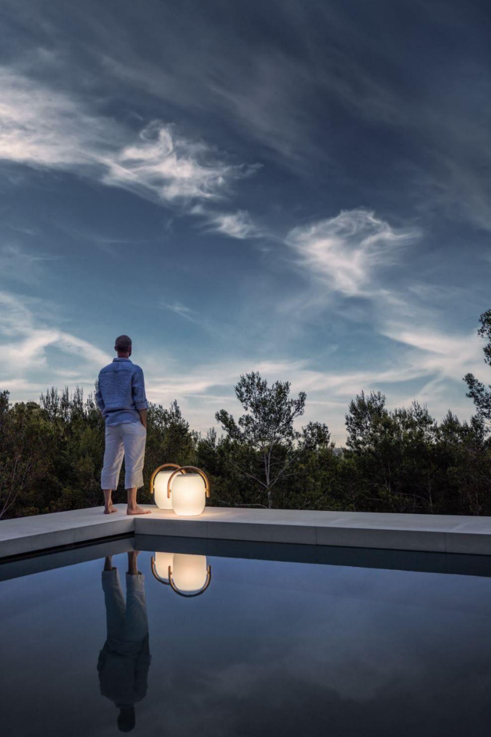 Cocoon Akku Leuchte Von Gloster Connox Gartenbeleuchtung Solarleuchten Gartenbeleuchtung Solar