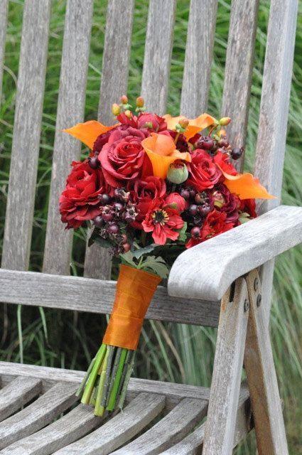 Wedding Bouquet, Wedding Flowers, Wedding, Artificial Silk Flowers, Flower Bouquet, Bridal Bouquet,