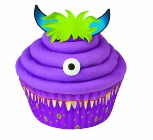 Monster Cupcake Decorating Kit 48ct 590 Birthday Party