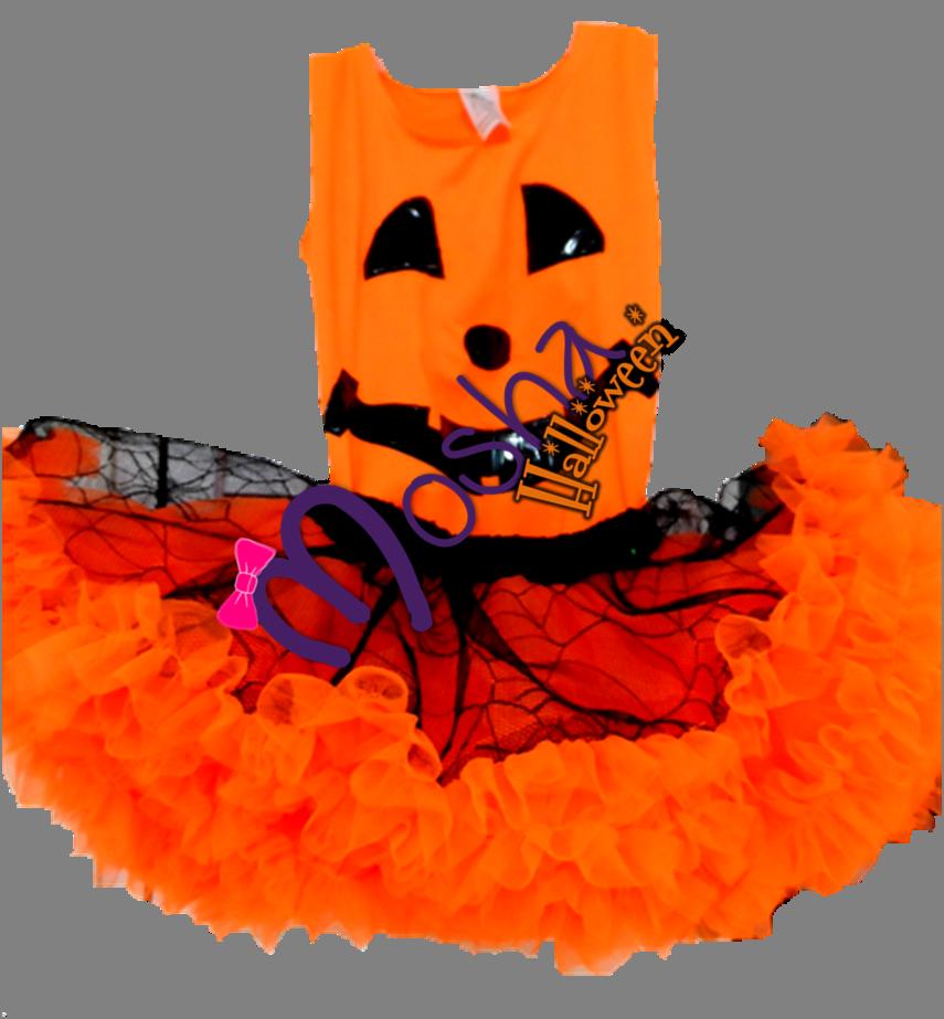 Diseño Mosha Calabacita de Halloween, hermoso lleno de