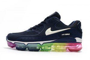 online retailer 889a6 a6dd6 Nike Air Max 90 KPU Navy Blue Multi-Color 875695 433 Mens Womens Running  Shoes
