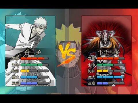 Anime Battle 2 1 New Characters Ichigo Zangetsu Anime Character Battle