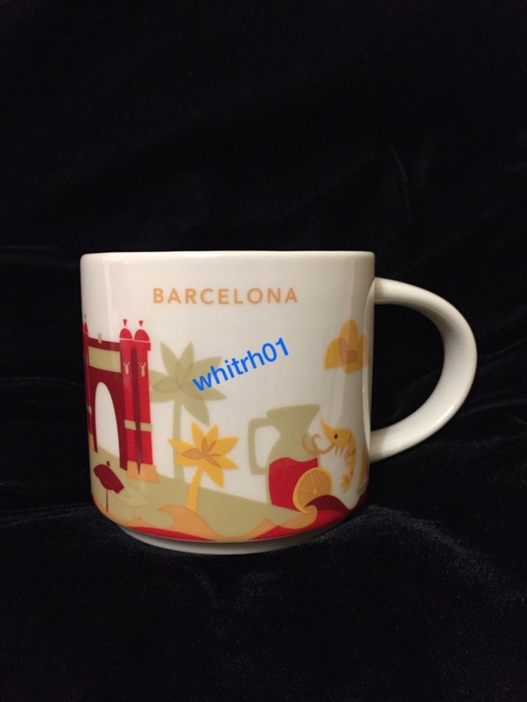 342802173f4 Starbucks Barcelona YAH Mug Spain Coffee Cup You Are Here Arch Cathedral  Sangria #Starbucks