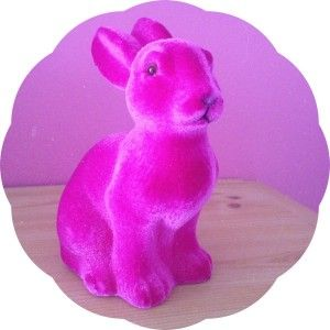 #2014projet52 #pâques Le lapin fuchsia.