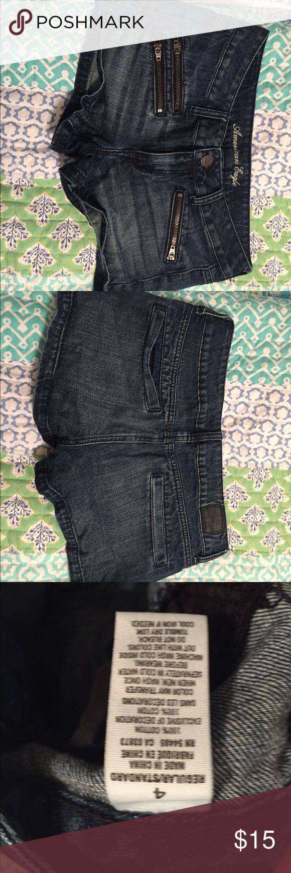American Eagle Jean Shorts Excellent Used Condition American Eagle Outfitters Shorts Jean Shorts