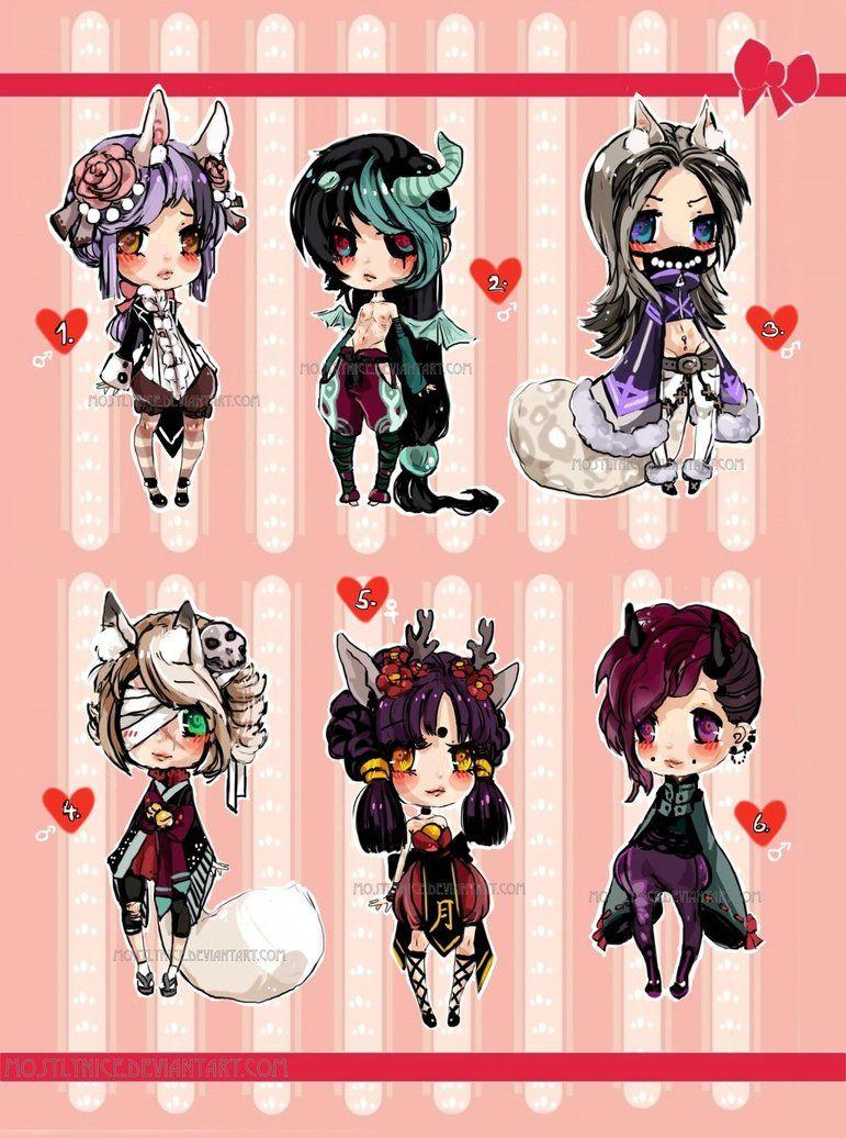 Chibiadopts 13 Closed Anime Character Design Chibi Drawings Cute Art
