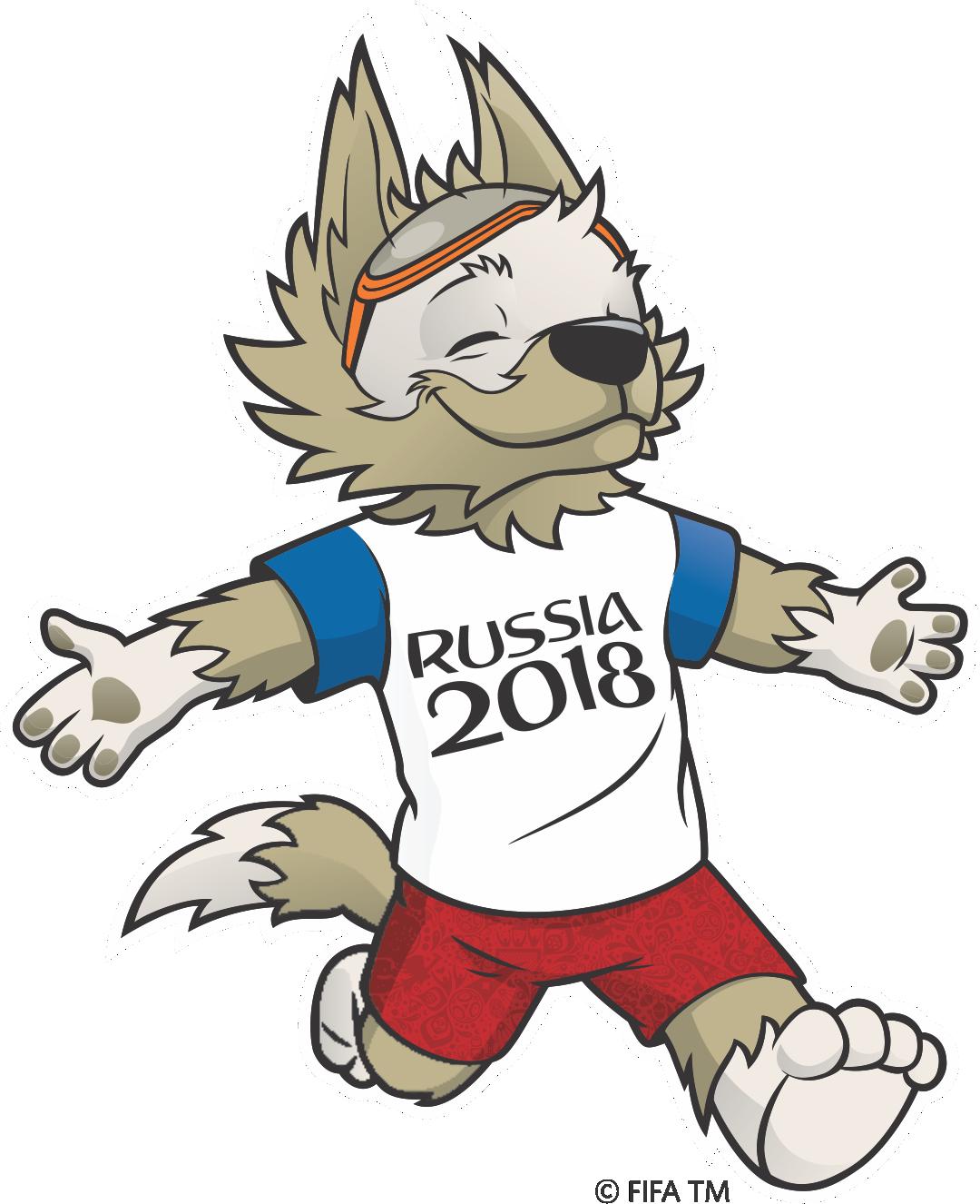 Resultado de imagem para mascote da copa 2018 PNG