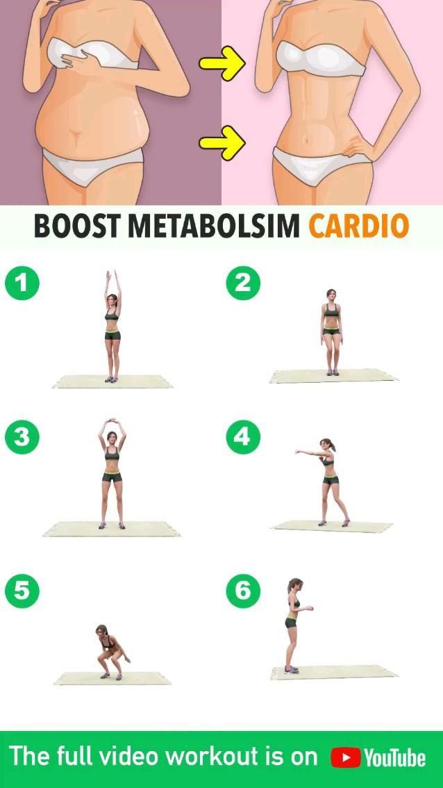 boostmetabolisim cardio exercise #exercise