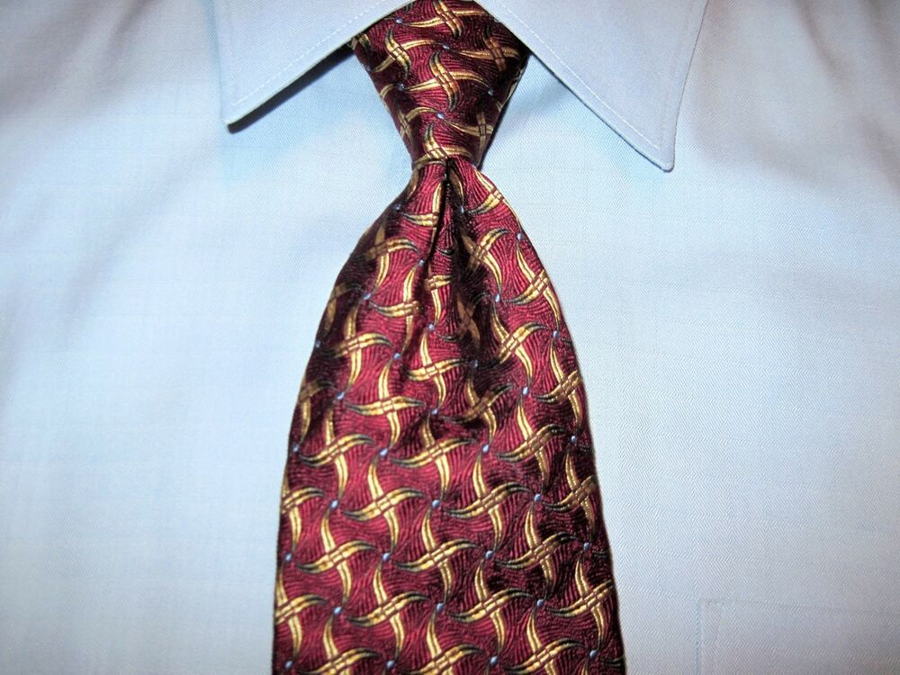 Robert Talbott Best Of Class Blue Mlti Stripe Woven Silk Tie