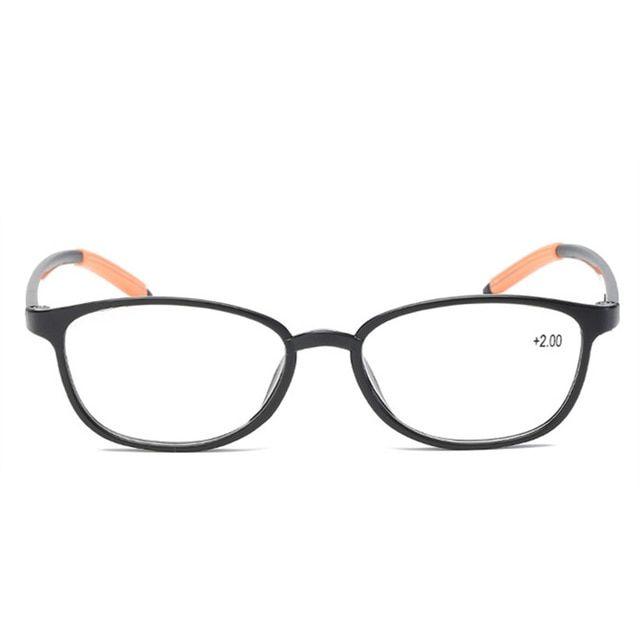 955ed18e27 XojoX Retro Fashion Reading Glasses Women TR90 Presbyopic Eyeglasses Men  Anti Fatigue Hyperopia Diopter Galsses 1.0 1.5 2.0 2.5 Review