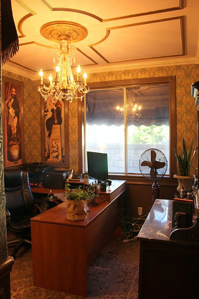 Disney Theme Haunted Mansion Office With Images Haunted