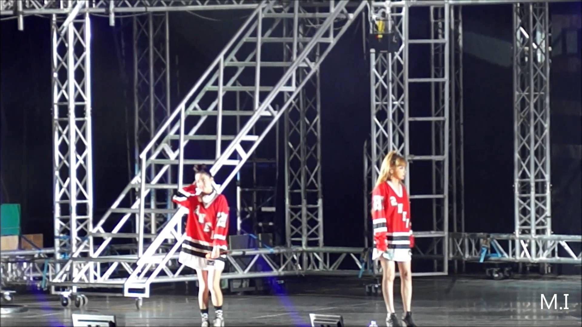 141015 YG FAMILY IN TAIWAN-Encore 2NE1 CUT