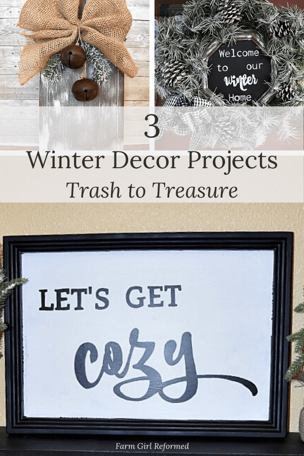 3 Easy Winter Decor Projects