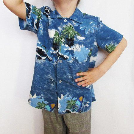 Shirt for boys and girls. Long and short sleeves. Sizes 1