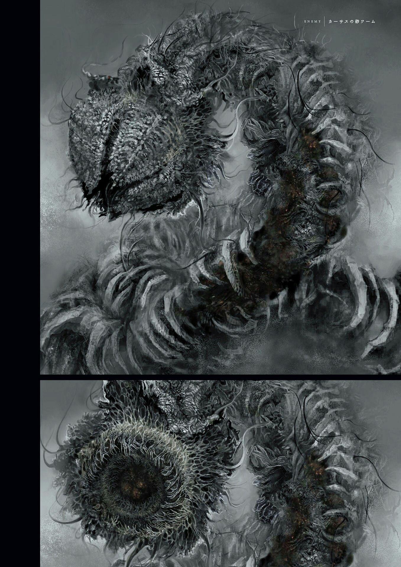 Dark Souls Monsters Concept Art