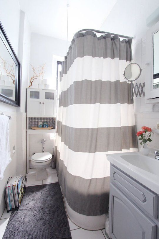 Apartment bathroom decorating on pinterest apartment for Apartment bathroom ideas