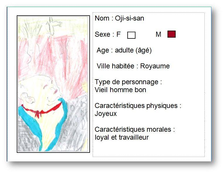 Carte d'identité réaliser à partir du livre le foulard magique de Diane  Barbara par ilyes .pour voire la notice du livre,cliquer sur mon dessine .